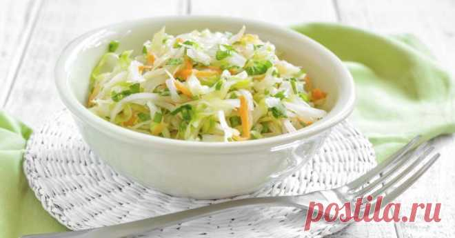 We cook ideal salad from cabbage: 3 options of gas station
