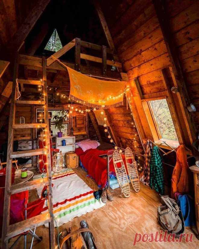 Уютные деревянные домики | Роскошь и уют