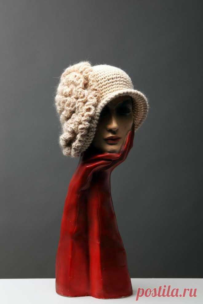 10 фантастических вязаных шляп и шапок   Только handmade   Яндекс Дзен