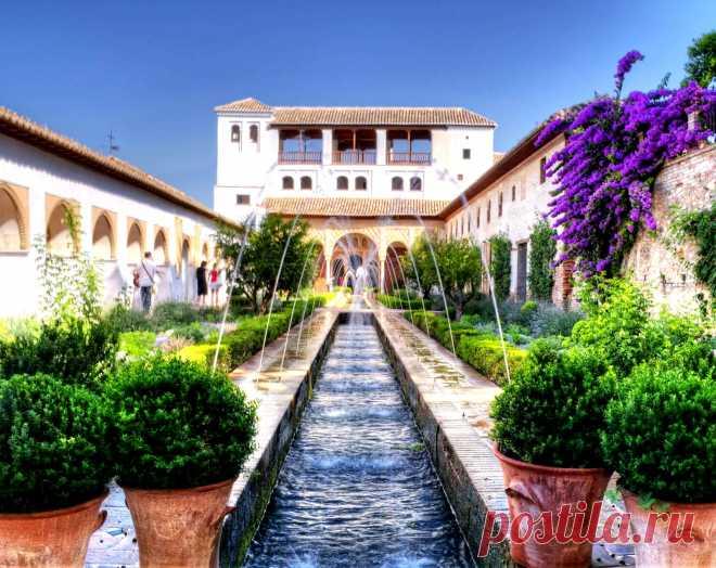 Испания:Дворец Альгамбра - земной рай халифов!