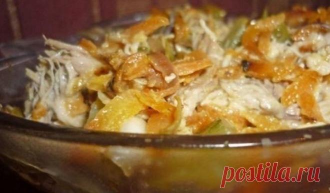 Салат «Ложные опята» — вкусный и питательный