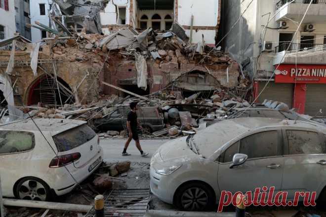 Печальные фотографии и видео разрушенного Бейрута после взрыва — vestinews