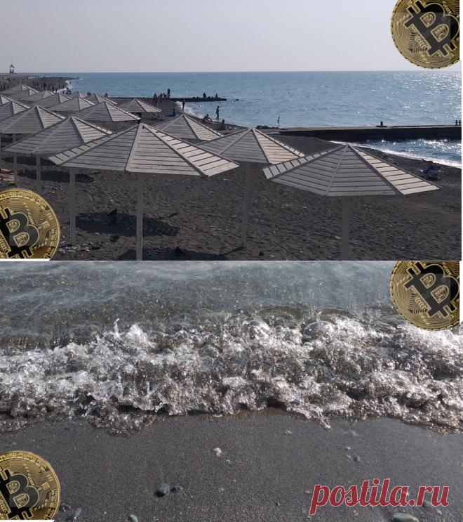 Пляж Чайка в Адлере, разрешили гулять, загорать и даже купаться   БогатаяЯ   Яндекс Дзен