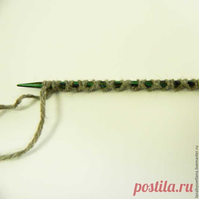 Вяжем бесшовный свитер с рукавом-погоном – Ярмарка Мастеров