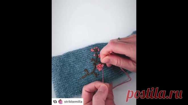 Вышиваем по готовому изделию