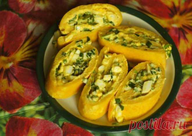 Яичный рулет с зелёным луком - пошаговый рецепт с фото. Автор рецепта Нина . - Cookpad