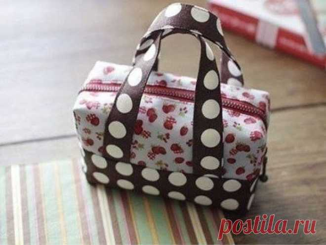 Шьем сумочку-чемоданчик