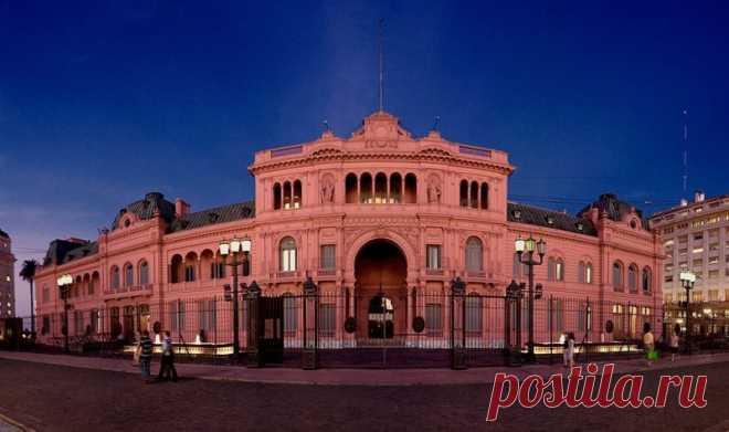 Каса-Росада - розовый дворец