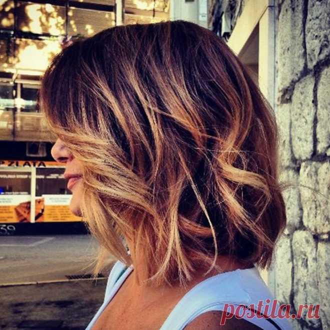 Окрашивание волос, которое сделает вас моложе | Женский Уголок | Яндекс Дзен
