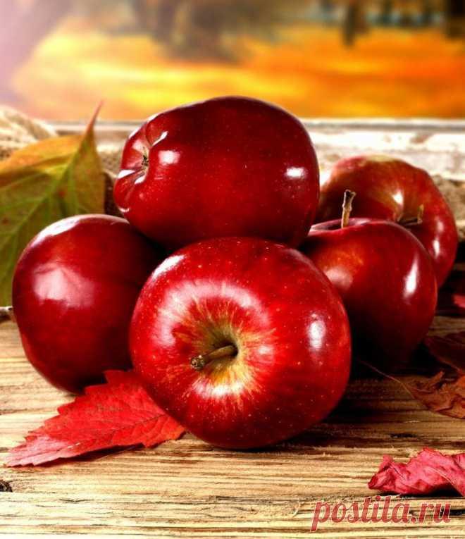 Хай ваше життя буде солодким та соковитим, як стиглі яблучка🍎🍏🍎