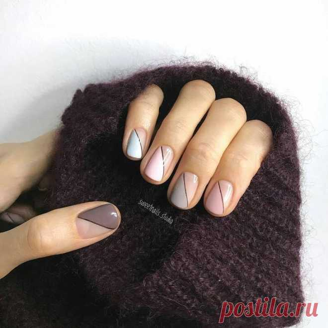 Manicure which to look expensive: 33 stylish ideas