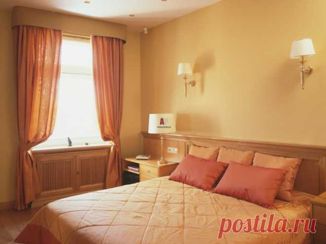 Дизайн комнат в теплых тонах (33 фото)