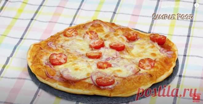 Пицца без дрожжей - это настоящая пицца, как в пиццерии. Пицца без дрожжей - это настоящая пицца, как в пиццерии. Тоненькое быстрое тесто, как в пиццерии, слегка хрустящее по краям и очень вкусное.