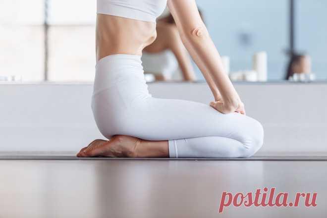 Как убрать живот: правильная техника выполнения упражнения вакуум — Анна Болотова — Хайп