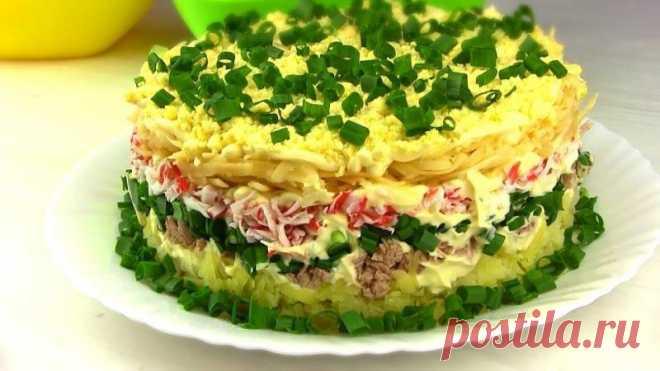 Салат «Аристократ». Праздничный салат из простых продуктов