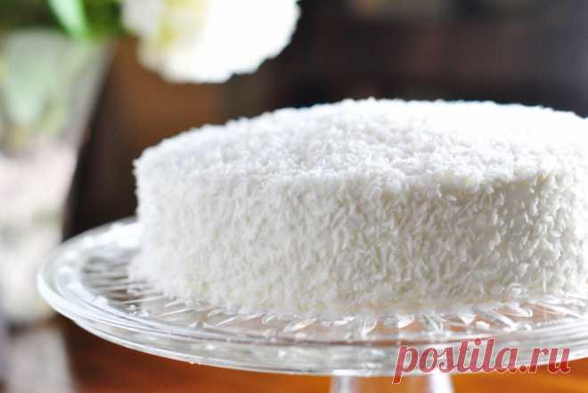 Лучший новогодний торт «Снежинка» — нежный как пух