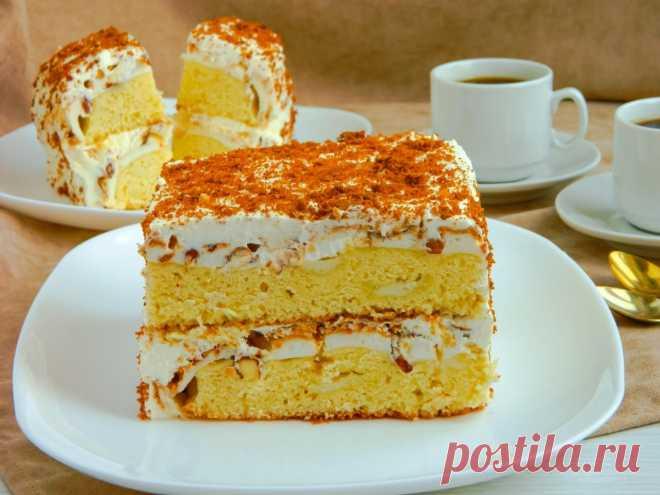 Норвежский торт рецепт с фото пошагово - 1000.menu