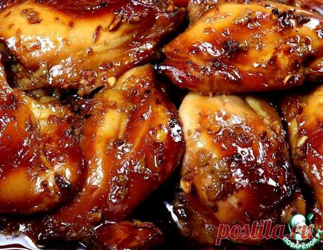 Куриные бёдра в соево-медовом маринаде – кулинарный рецепт