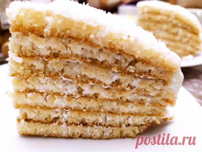 Нежный манный торт без выпечки в духовке - вкуснее любого бисквита. Фото и видео | Вкусно и полезно | Яндекс Дзен