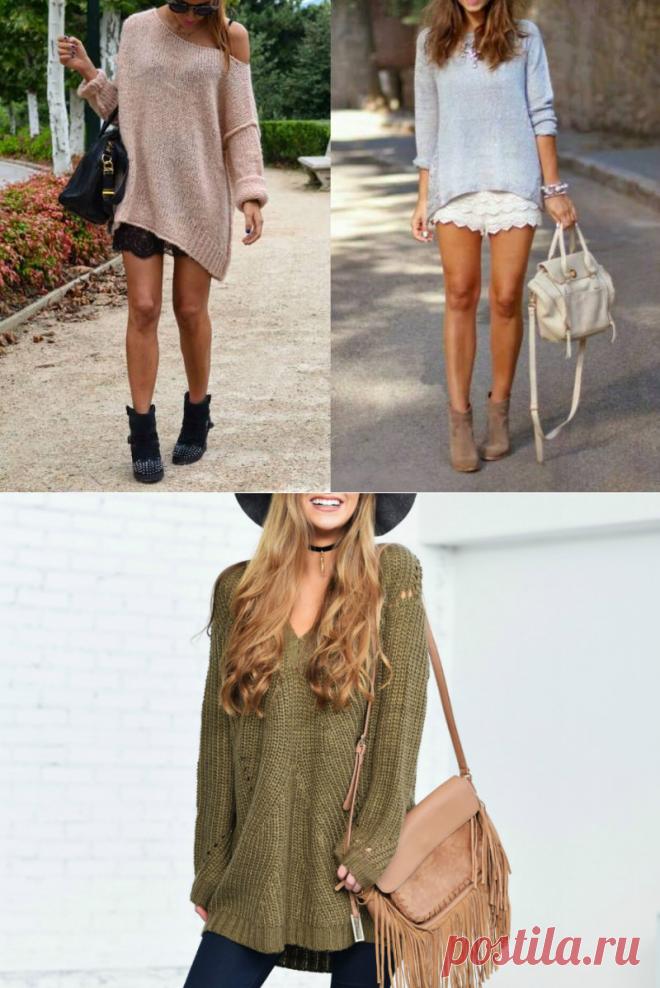 Вязаные туники: украсят вас зимой и летом | Мода от Кутюр.Ru