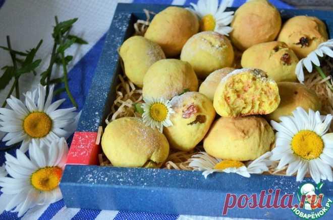 Сметанное печенье с изюмом Кулинарный рецепт