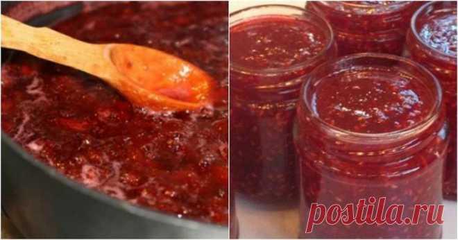 Варенье-пятиминутка из любой ягоды: сохраняем все витамины и аромат! Ингредиенты: ягоды — 7 стаканов вода — 3 стакана сахар — 9 стаканов Приготовление: Заливаем ягоды водой и ставим на огонь. Добавляем3 стакана сахара, даем закипеть и через пару минут добавляем еще 3 стакана сахара, снова даем покипеть пару минут и всыпаем еще 3 стакана сахара, снова даем покипеть 2 минуты. Все, варенье готово! Разливаем …
