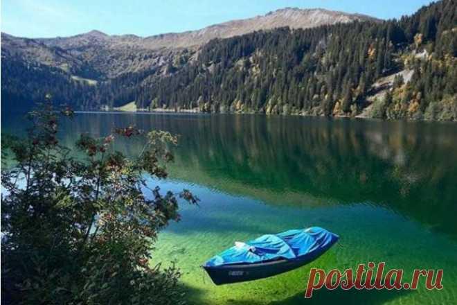 Кенигсзее: самое чистое озеро в Германии и одно из самых чистых в мире.
