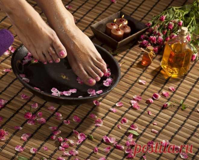 Ванночки для ног для снятия усталости / Будьте здоровы