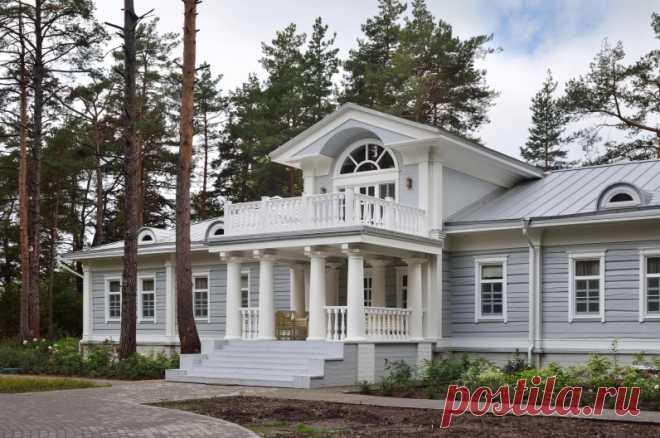 Дома, Проекты в стиле Русской Усадьбы