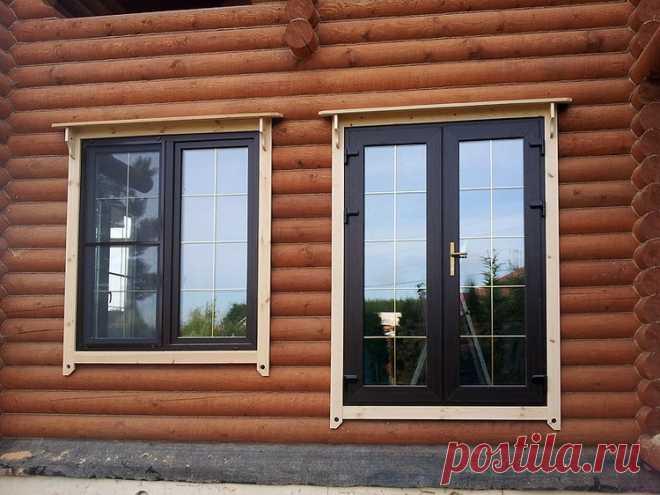 Пластиковые окна для деревянных коттеджей | Журнал