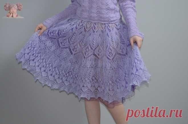 Мохеровая юбка