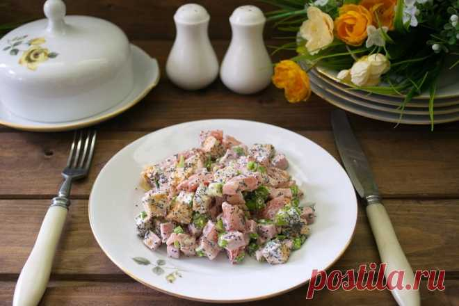 10 незабываемых салатов, которые понравятся мужчине - Статьи на Повар.ру