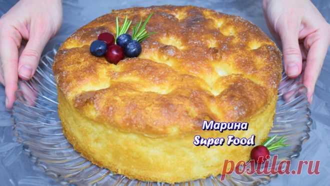 Многие просили этот рецепт 🍰 Знаменитый Сахарный пирог (вкуснее чем торт) | Марина Super Food | Яндекс Дзен