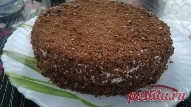 Насыпной шоколадный торт за 30 минут, без духовки. | Тутвкусно | Яндекс Дзен