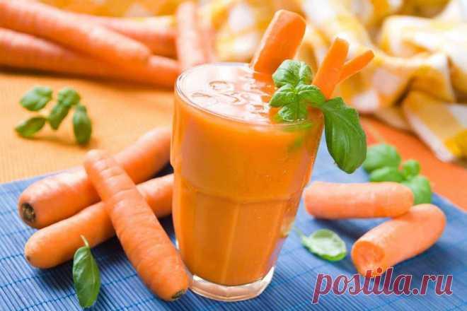 Полезные свойства морковного сока для всех систем организма человека
