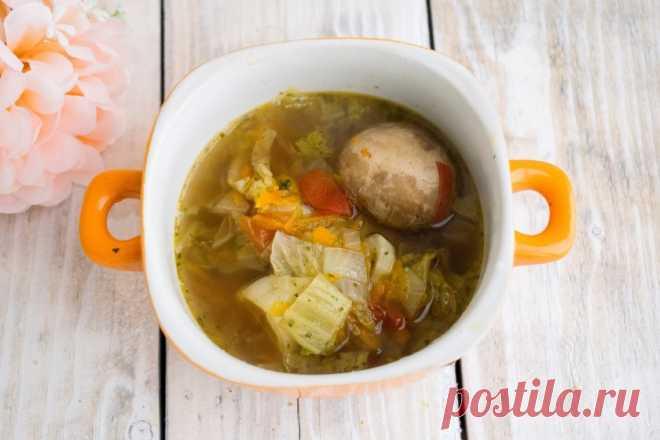 Диетический суп из шампиньонов - пошаговый рецепт с фото