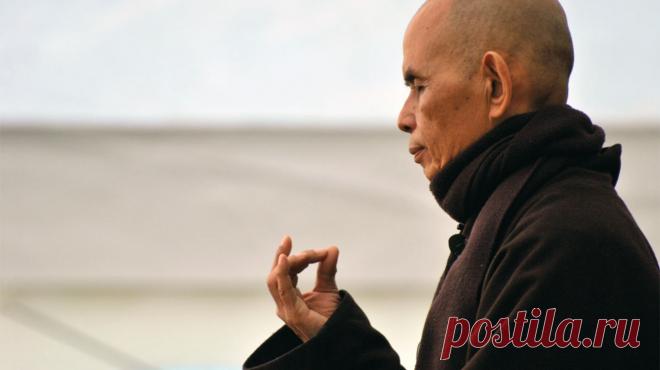 20 declaraciones del monje budista de Tita Nata del Kan, que le harán más sabiamente