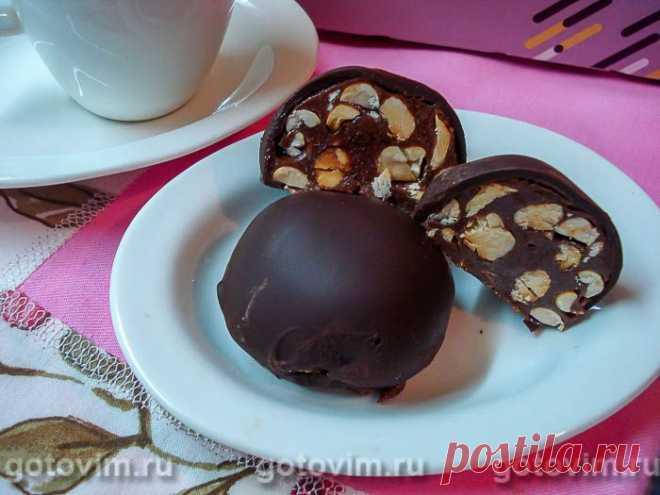 Шоколадные конфеты из сухого молока. Рецепт с фото / Готовим.РУ