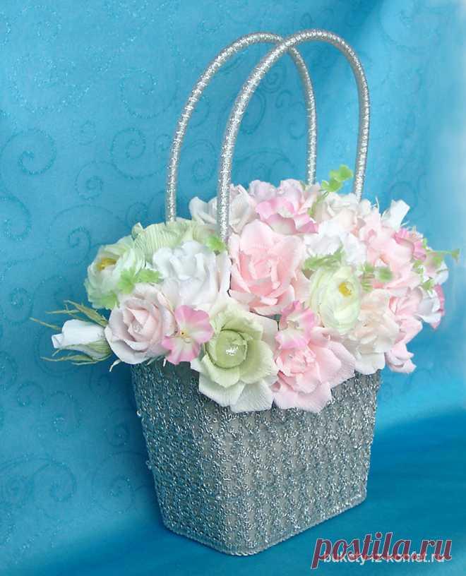 Корзинки под цветы подарки