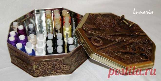 Коробка для ниток - Идеи для творчества и подарков своими руками