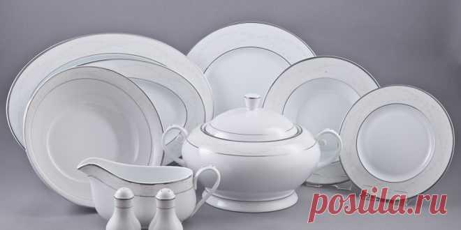 Как правильно использовать и ухаживать за фарфоровой посудой - ВПрихожей Для изготовления современной посуды может использоваться керамика, стекло, металл и даже натуральное