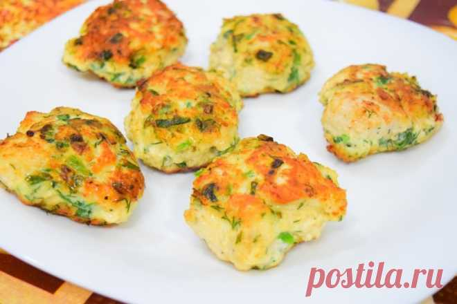 Куриные котлетки с сыром и зеленью: готовьтесь, что будут хвалит!