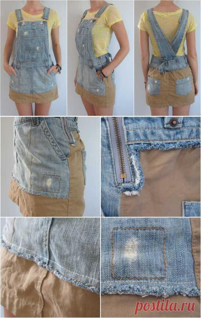 Переделка сарафана / Изменение размера / Модный сайт о стильной переделке одежды и интерьера