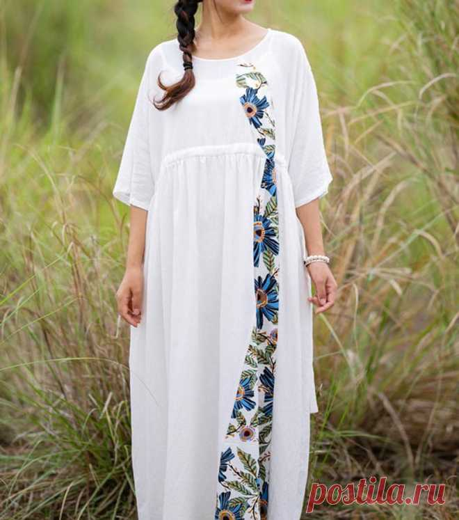 Summer dress maxi dress bridal dress oversized long dress | Etsy