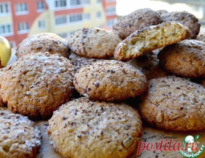 Овсяное печенье - кулинарный рецепт