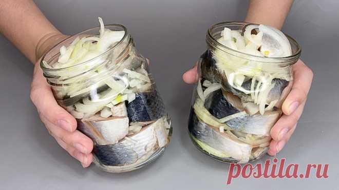 Больше селёдку в магазине не покупаю, а солю сама (лук съедается самым первым) | Вкусная Жизнь | Яндекс Дзен