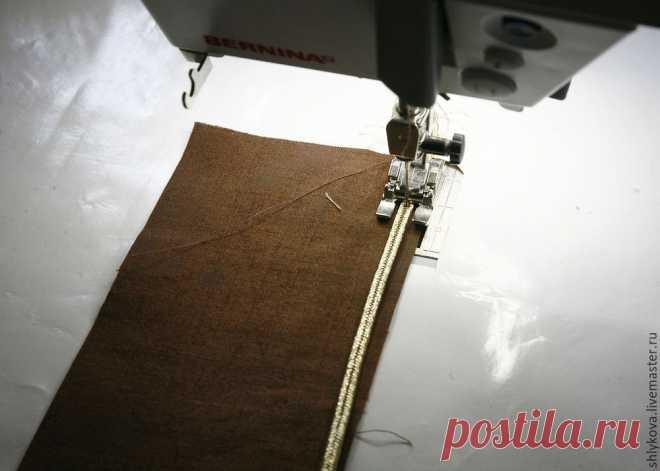Шьем красивую косметичку из ткани для пэчворка - Ярмарка Мастеров - ручная работа, handmade