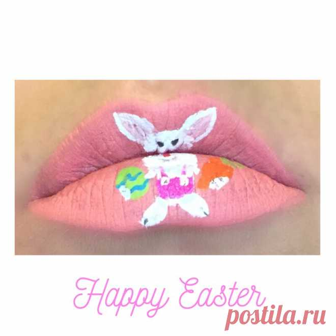 💕Chelsea💕 в Instagram: «Happy Easter! 🌸🐰🐣🐥🐇🌸. . . #happyeaster #happyeastersunday #easter #eastersunday #lips #easterlips #lipart #makeupart #oregoncoast #coosbay…» 18 отметок «Нравится», 1 комментариев — 💕Chelsea💕 (@strawberrybabe_beauty) в Instagram: «Happy Easter! 🌸🐰🐣🐥🐇🌸. . . #happyeaster #happyeastersunday #easter #eastersunday #lips #easterlips…»