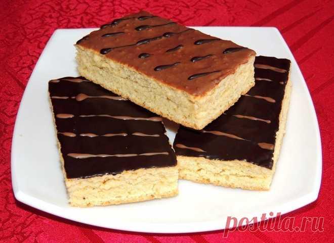 Школьное пирожное – этот вкус незабываемый!