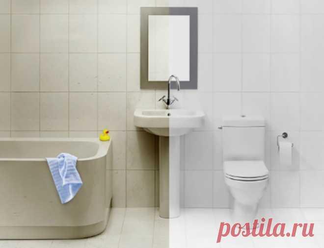7 трюков, с которыми твоя ванная комната превратится в идеал чистоты.